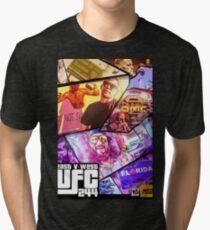 Camiseta de tejido mixto Cinturón UFC East vs West BMF