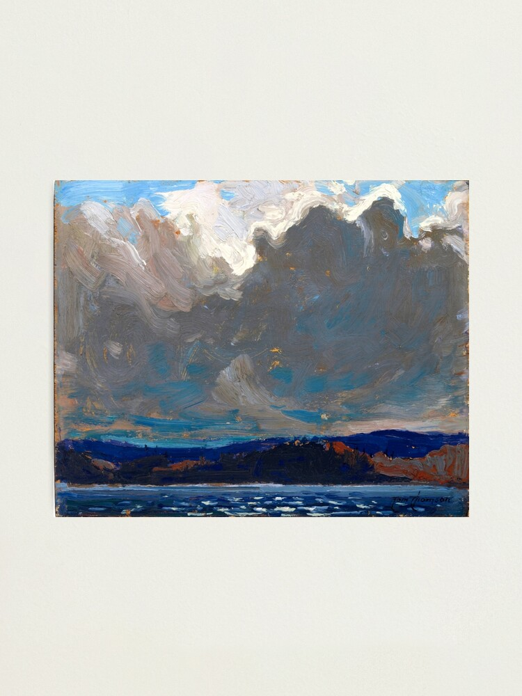 Alternate view of Tom Thomson - Approaching Storm, Dog Point Photographic Print