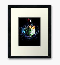Chibi Borg Star Trek Framed Print