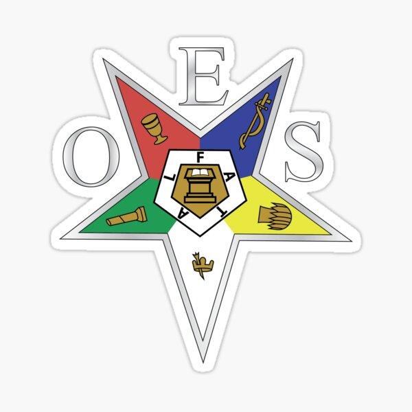 Orden de la estrella del este Pegatina