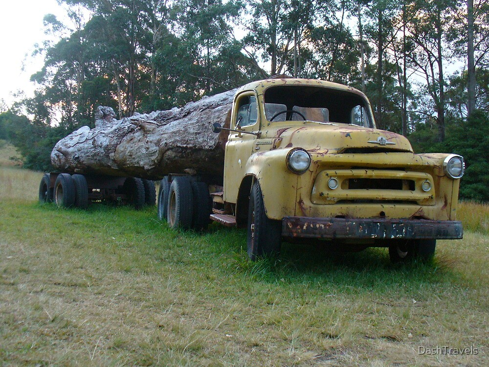 Quot Old Logging Truck Bilpin Nsw Quot By Dashtravels Redbubble
