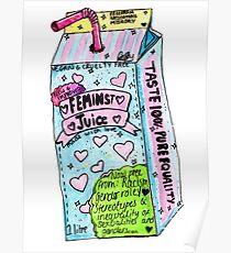 feminist juice Poster