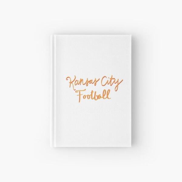 KANSAS CITY football script  Hardcover Journal