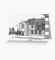 Letchworth Town Centre Greeting Card