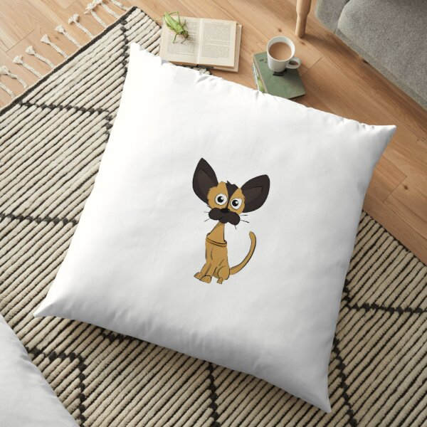 Sitting Chihuahua Floor Pillow