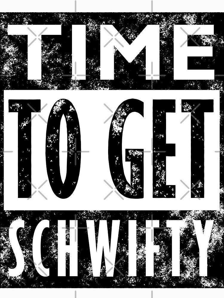 Rick and Morty Get Schwifty Lyrics Print | Unisex T-Shirt