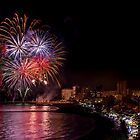Fireworks at El Campello by Ralph Goldsmith