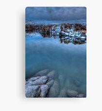 Mood Lake Canvas Print