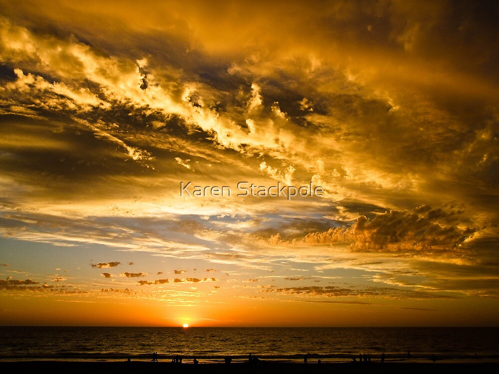 It got darker........... Ocean Reef, Perth, Western Australia by Karen Stackpole