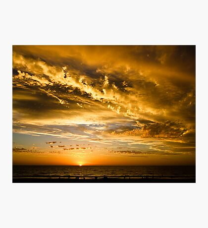 It got darker........... Ocean Reef, Perth, Western Australia Photographic Print