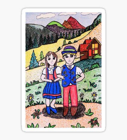 Peter and Heidies Alm Sticker