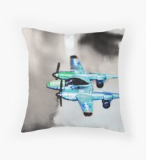 Fork-Tailed Devil Throw Pillow