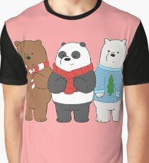 We Bare Bears Graphic T-Shirt