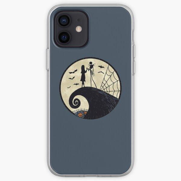 Luna de pesadilla Funda blanda para iPhone