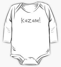 Kazam! (black) One Piece - Long Sleeve