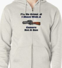 Photographers Rights Zipped Hoodie