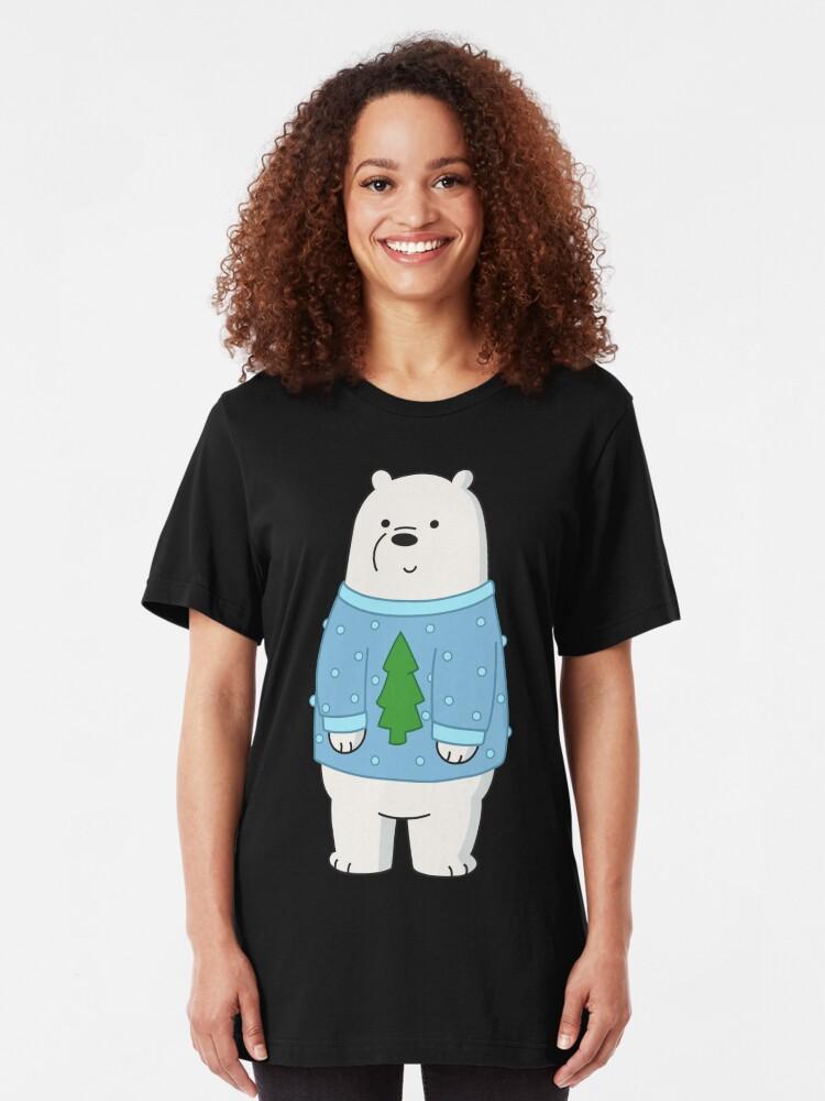Alternate view of Ice Bear Slim Fit T-Shirt