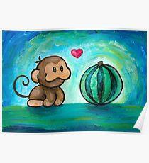 Ukiki, the Yoshi's Island Monkey! Poster