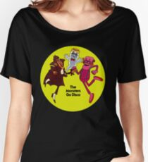 Saturday Morning Disco Dancing Cereal Monsters Women's Relaxed Fit T-Shirt