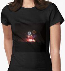 Edinburgh Festival Fireworks - 2 Womens Fitted T-Shirt