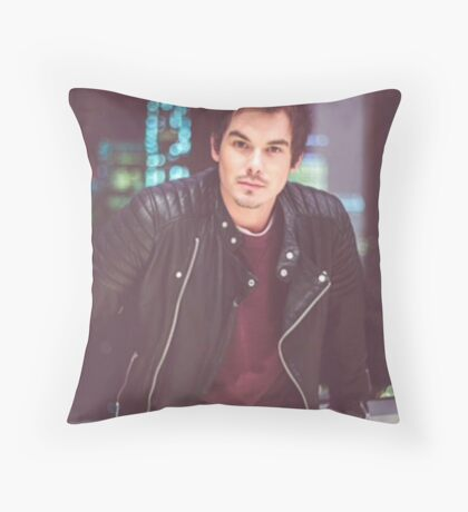 Tyler Blackburn Throw Pillow