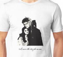 Labyrinth Jareth and sarah Unisex T-Shirt