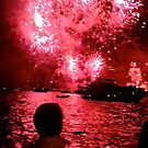 Lights on Sydney Harbour - New Years 2010-11 by darkhorseaustralia