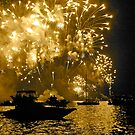 New Years Fireworks - Sydney Harbour 2010 by darkhorseaustralia