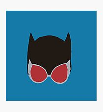 Cat Woman Goggles Photographic Print