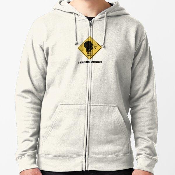 Spoil Away (Black Logo) Zipped Hoodie