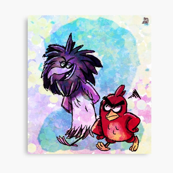 Art Print Poster Canvas Angry Birds