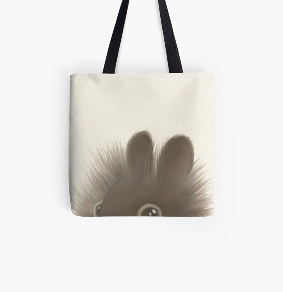 Kevin the hamster All Over Print Tote Bag