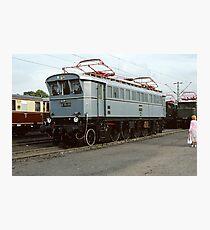 E75 09 at Bochum, Germany, 1985 Photographic Print