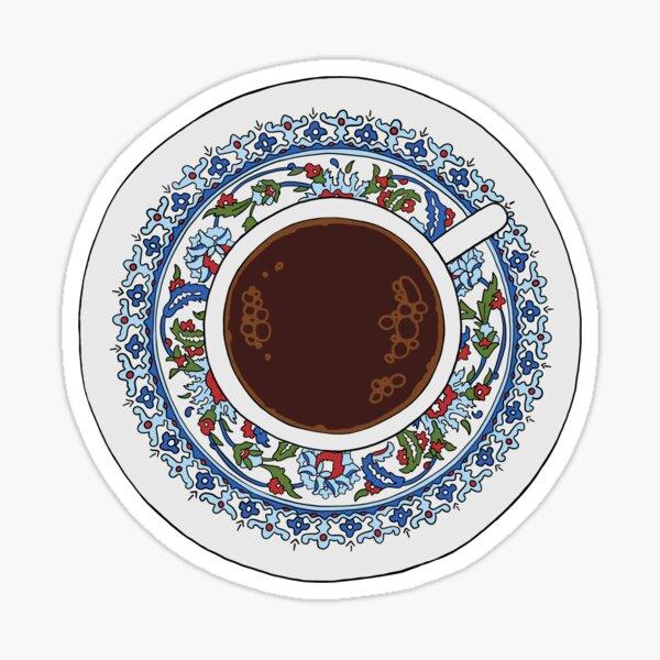 Turkish Coffee Sticker