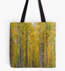 Yellow Birch Forest Tote Bag