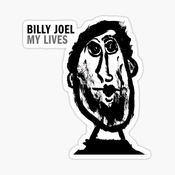 billy joel carton tour 2019 2020 nekat8 Sticker