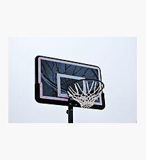 Basketball hoops. Photographic Print