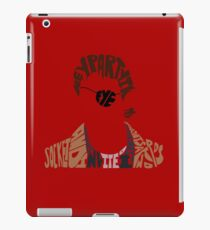 xander harris iPad Case/Skin