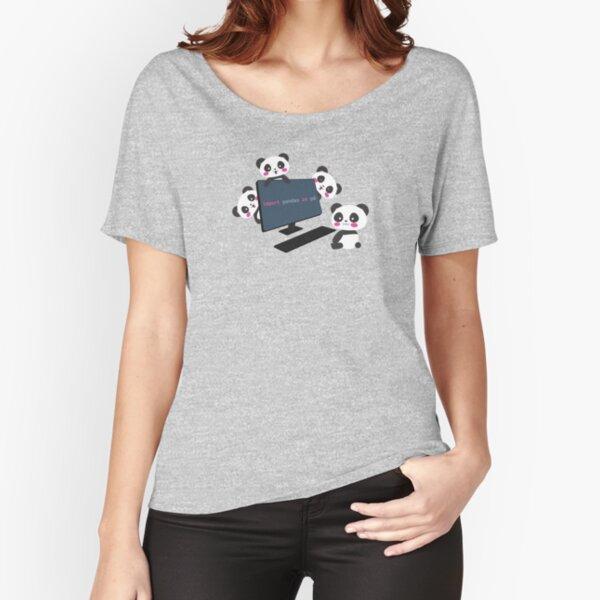 Pandas import pandas Relaxed Fit T-Shirt