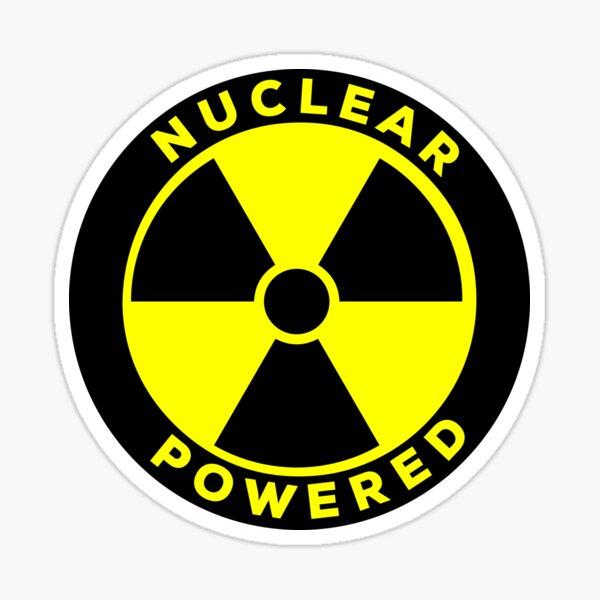À propulsion nucléaire Sticker