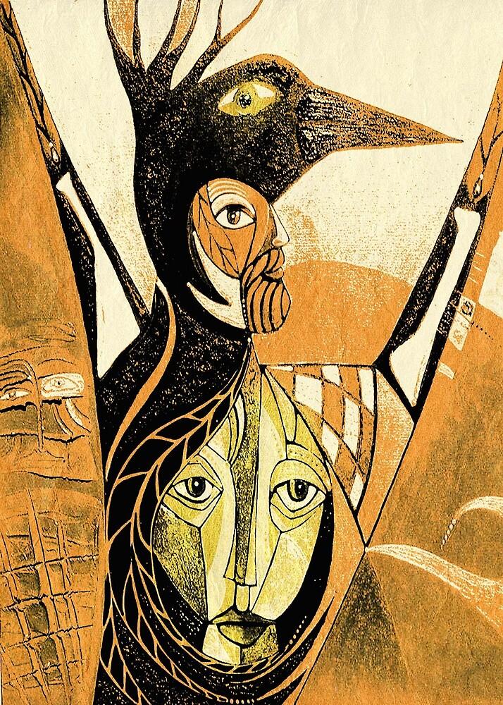 crow he crow she by arteology