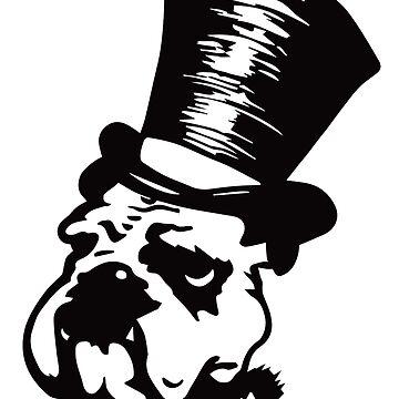 Punk Aristocrats Bulldog by punkaristocrats