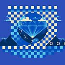 Chaos Emerald by Ian Wilding