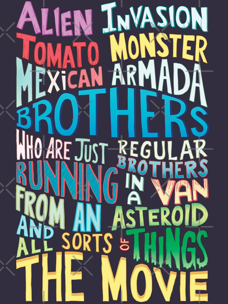 Rick and Morty Two Brothers Handlettered Quote | Unisex T-Shirt