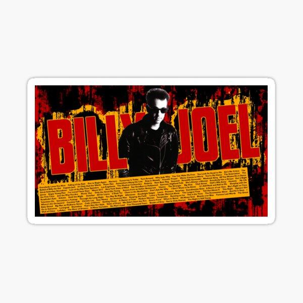 the song billy joel tour 2019 2020 nekat8 Sticker