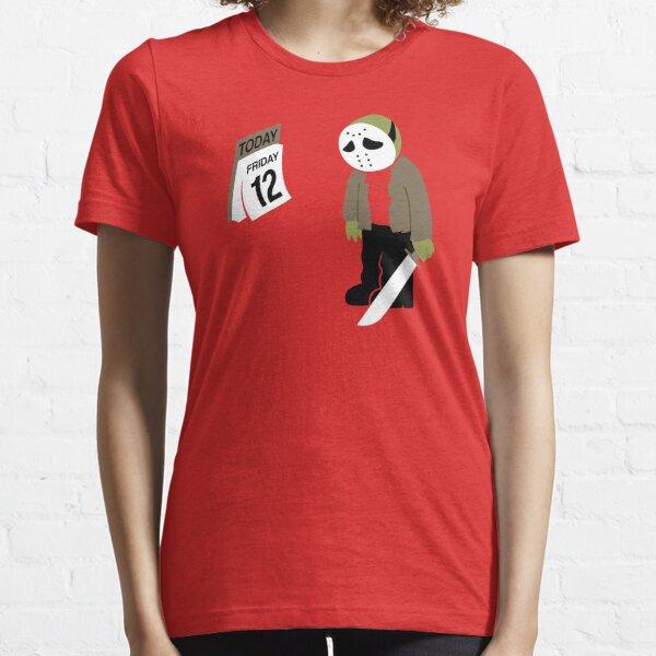 Vendredi 13 parodie T-shirt essentiel