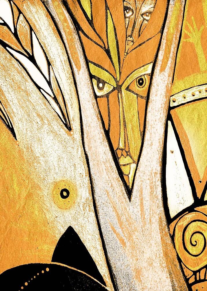 tree shaman by arteology