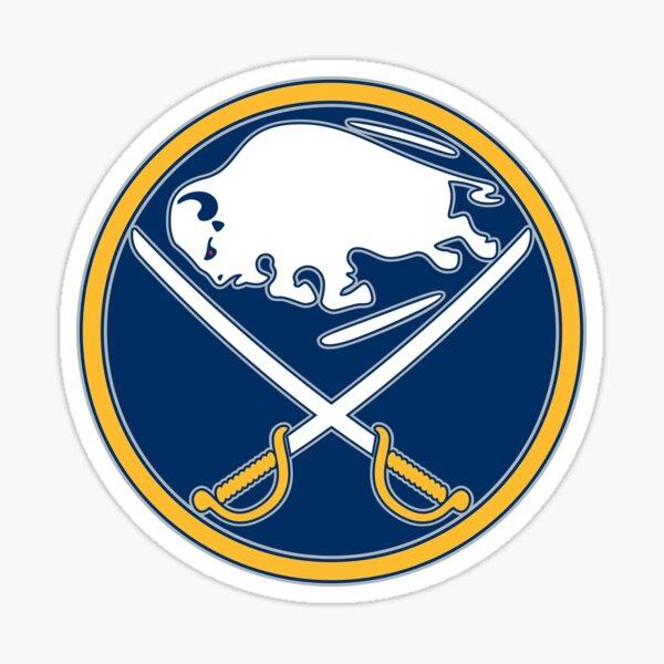 sabres, buffalo, logo. Sticker