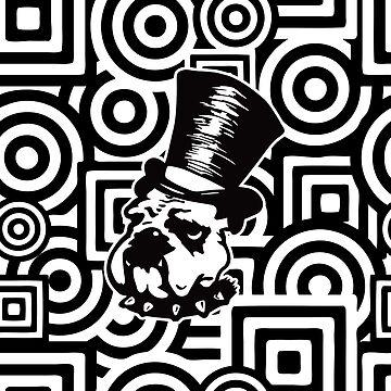 Punk Aristocrats Bulldog Maze by punkaristocrats
