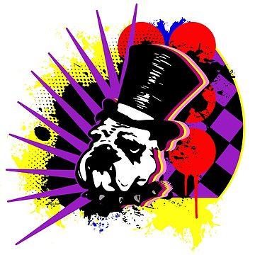 Punk Aristocrats - Graffiti Dog by punkaristocrats